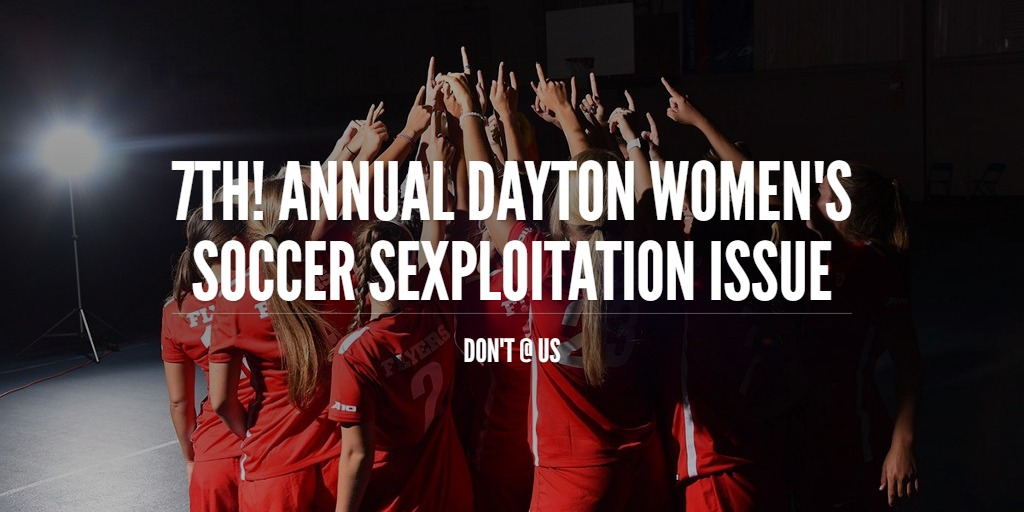 7th! Annual Dayton Women's Soccer Sexploitation Issue
