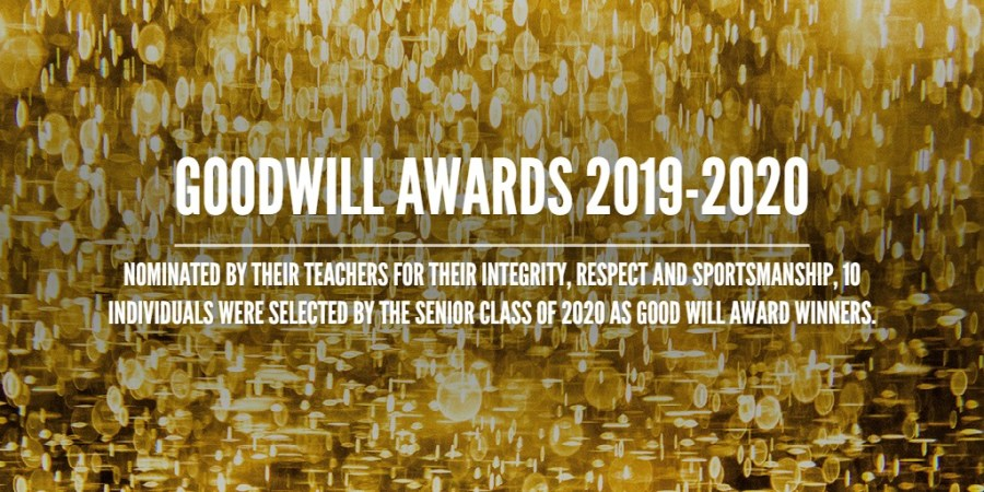 Goodwill Awards 2019-2020