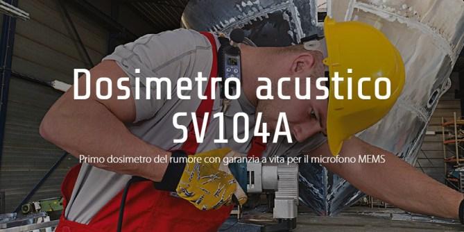 Dosimetro acustico SV104A