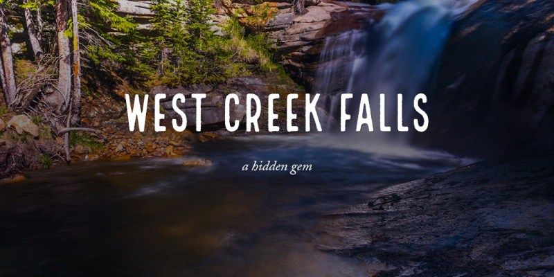 West Creek Falls