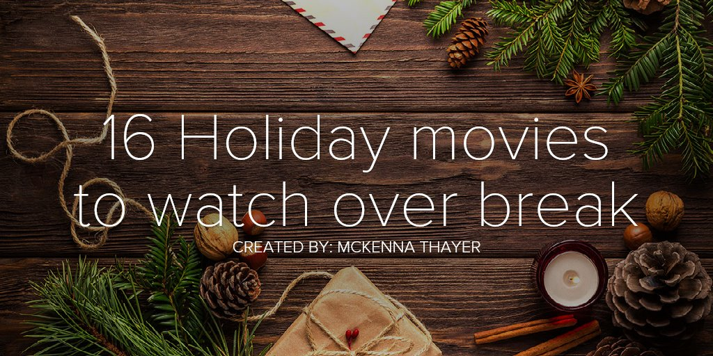 16 Holiday movies to watch over break