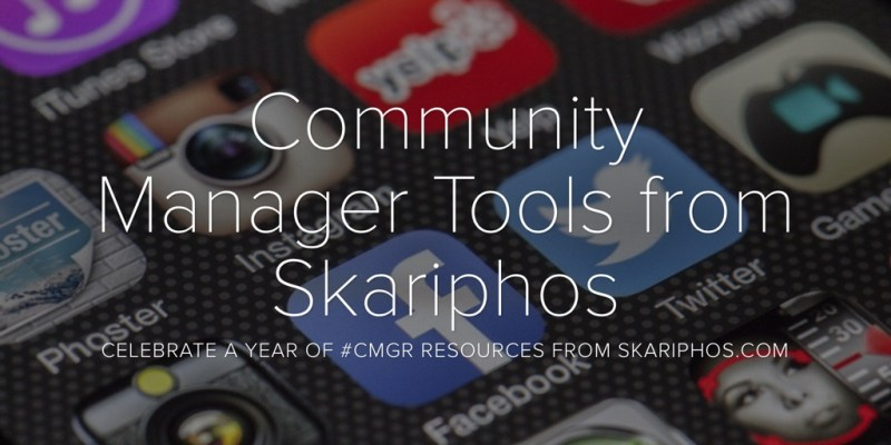 Community Manager Tools from Skariphos