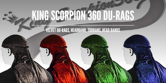 King Scorpion 360 Du-Rags