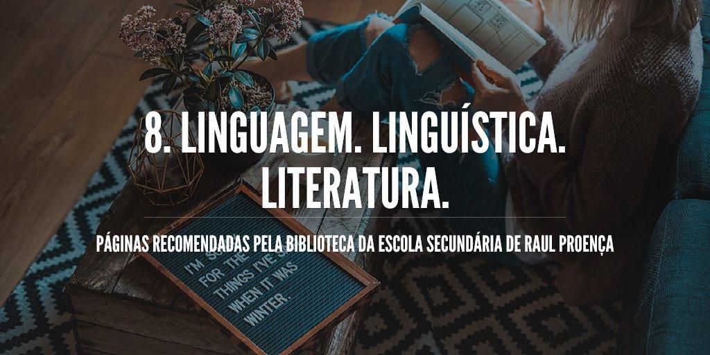 8. Linguagem. Linguística. Literatura.