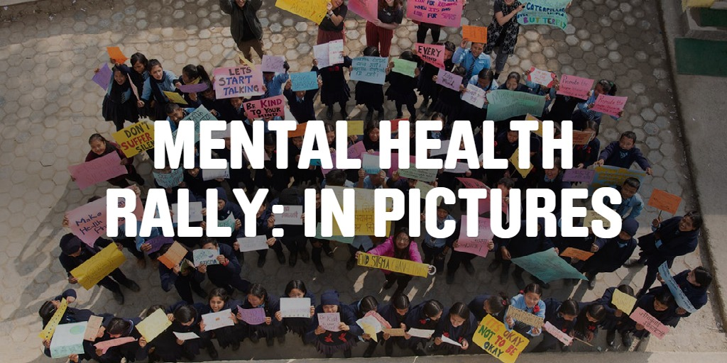 Mental Health Rally: In pictures