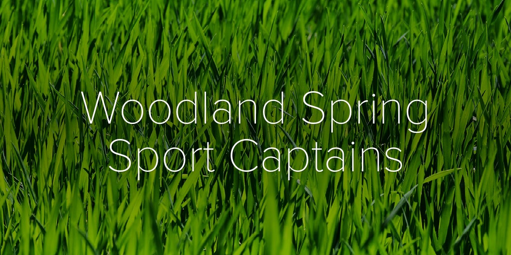 Woodland Spring Sport Captains