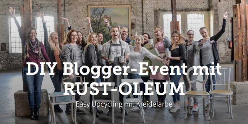 DIY Blogger-Event mit RUST-OLEUM