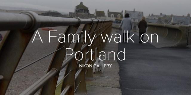 A Family walk on Portland