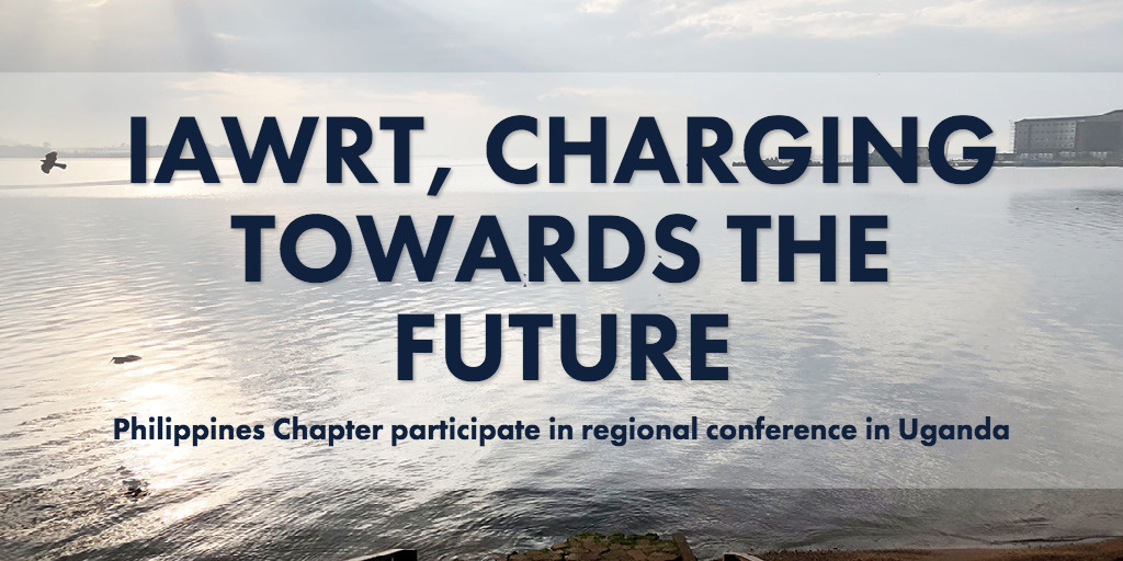 IAWRT, CHARGING TOWARDS THE FUTURE