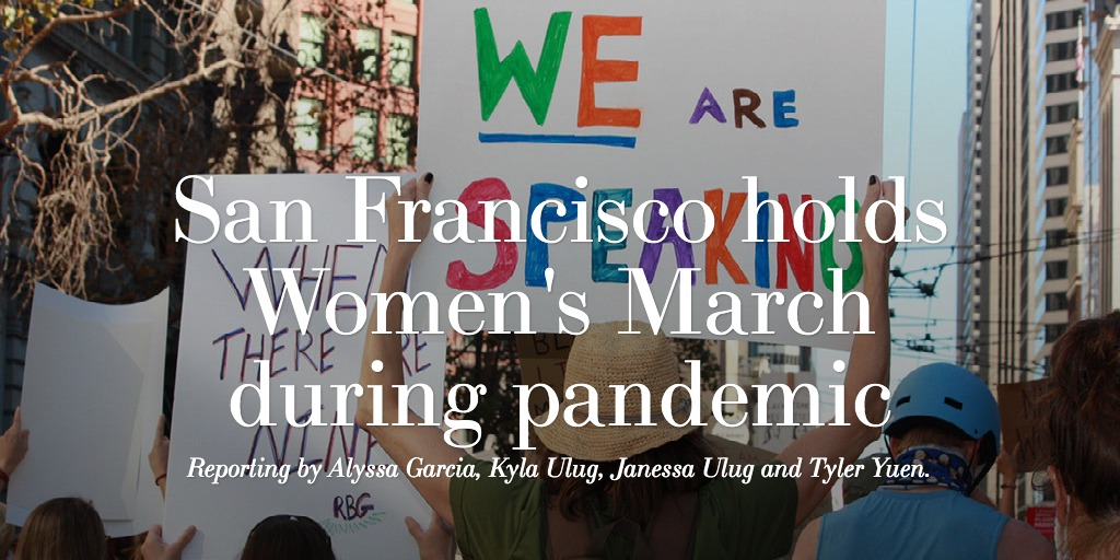 San Francisco holds Women's March during pandemic