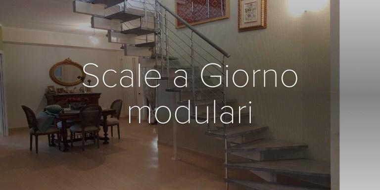 Scale a Giorno modulari