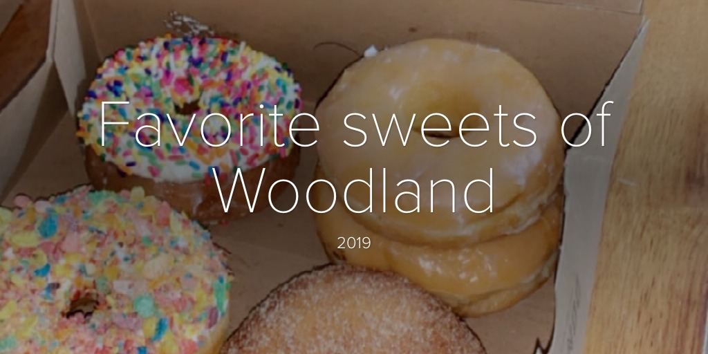 Favorite sweets of Woodland