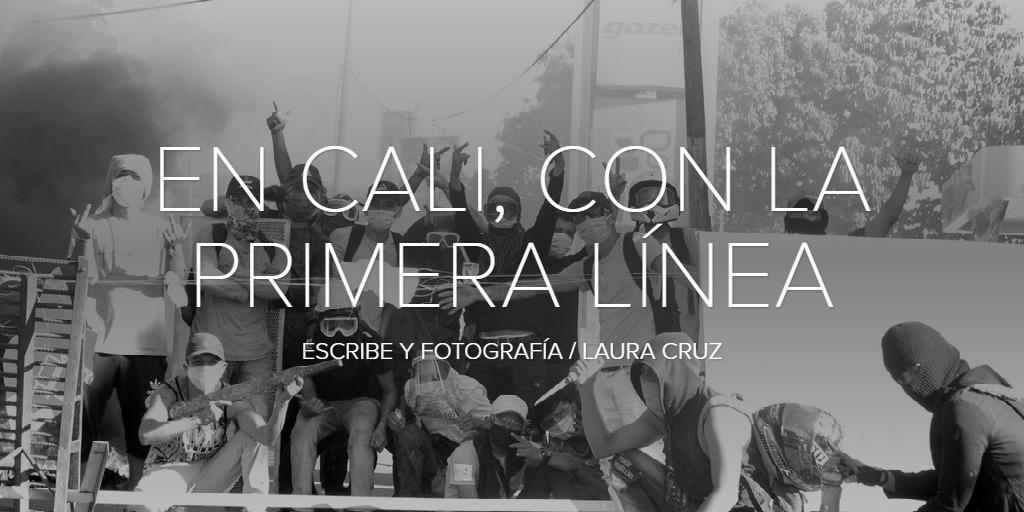 EN CALI, CON LA PRIMERA LÍNEA