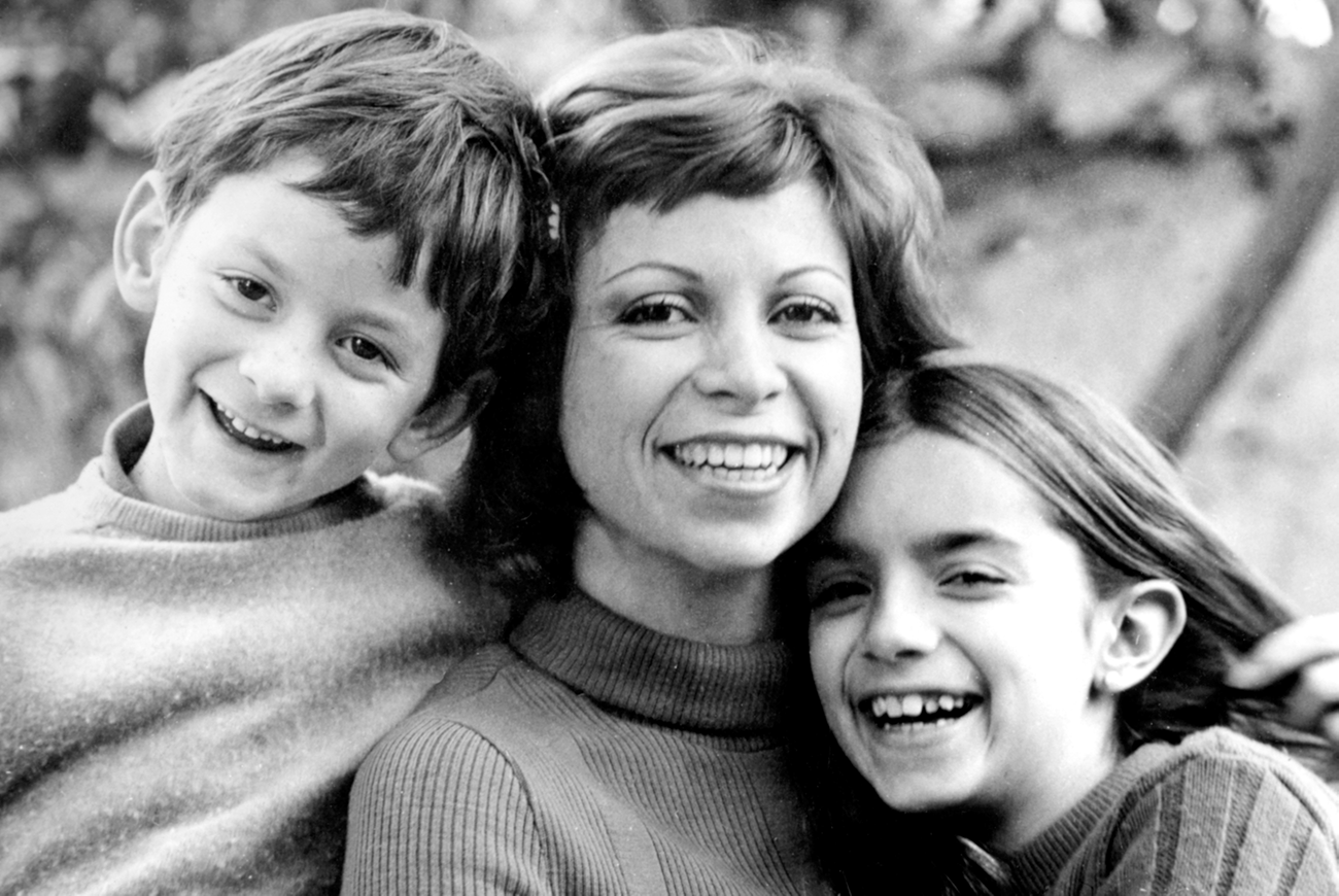 Isabel Allende and her children, among her first readers – and editors. They helped her tame the manuscript, replacing names and Tipp-Ex-ing phrases as the manuscript grew.