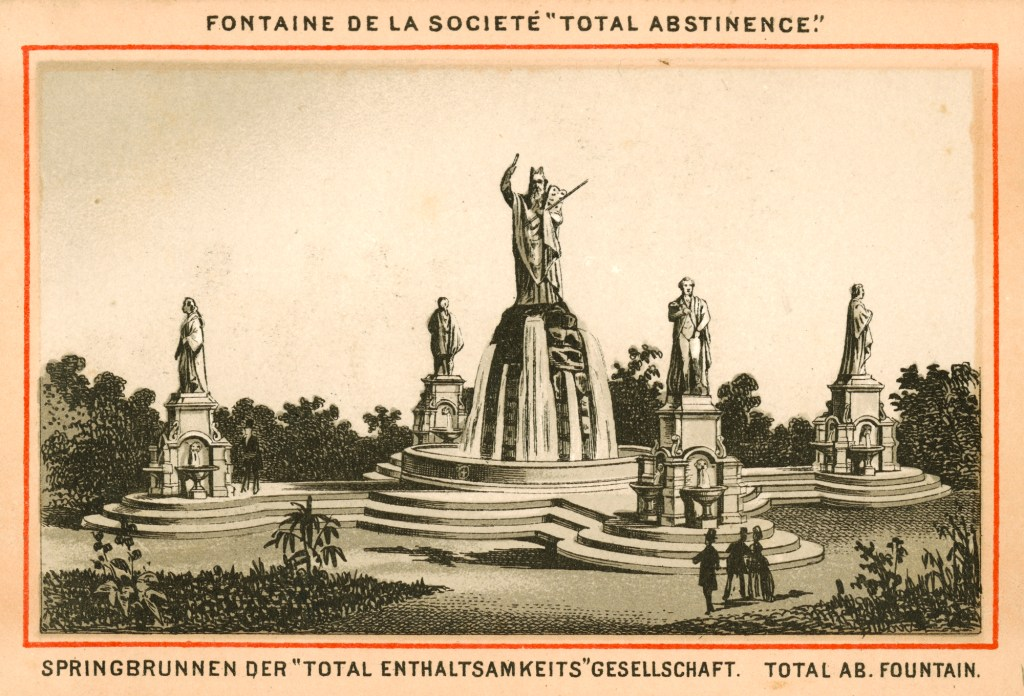 The idea of plunking statues and fountains in public plazas is as old as cities themselves, and designers have had a couple of millennia to ring the changes on that combo. Thomas Heatherwick knew he had to push for something … else. Image: Catholic Total Abstinence Monument, from Philadelphia's Fairmount Park.
