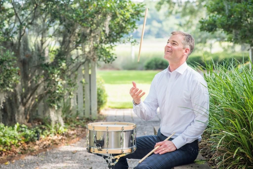 Percussionist Joseph Gramley