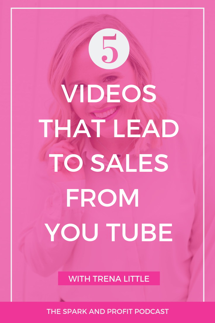 Wondering why your You Tube videos don't make sales? Create this five video series to change your You Tube game.