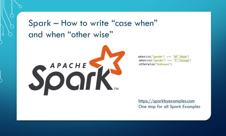 """Spark SQL """"case when"""" and """"when otherwise"""""""
