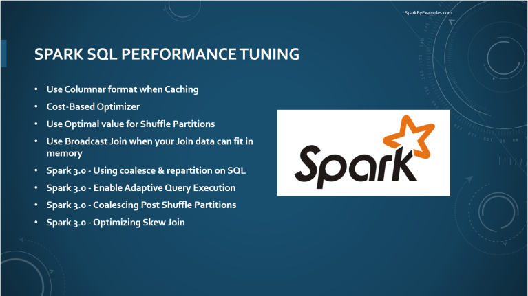 Spark SQL Performance Tuning by Configurations