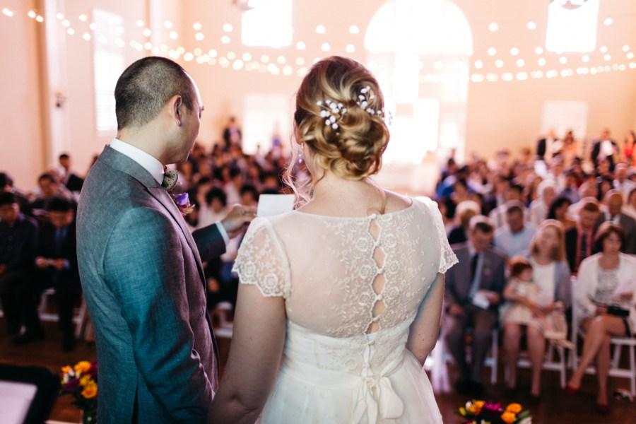 great hall at green lake wedding photos