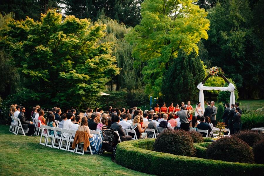 garden wedding seattle