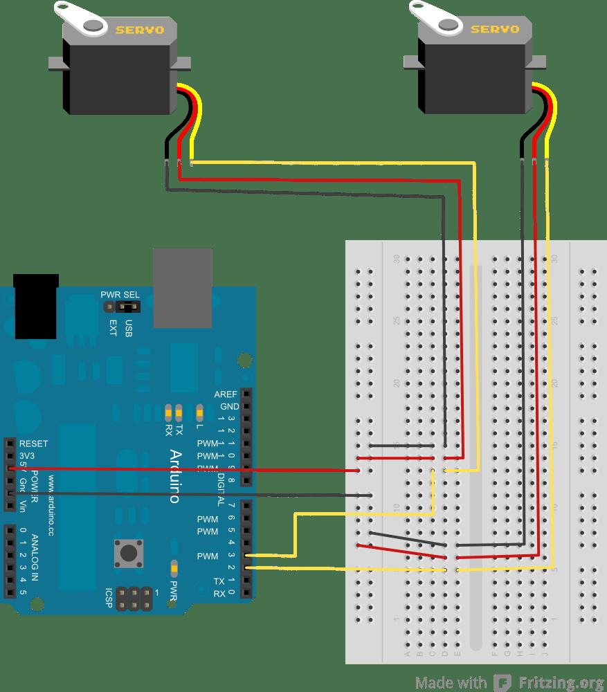 hight resolution of arduino uno servo wiring diagram