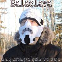 Storm Trooper Balaclava Pattern
