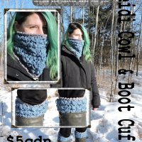 Heidi Cowl & Boot Cuffs Pattern!