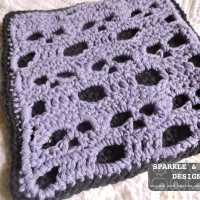 Skull Dishcloth & Potholder Free Pattern