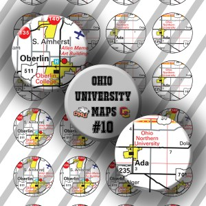 Ohio University Maps #10, Oberlin, OH Northern, 20mm Preview