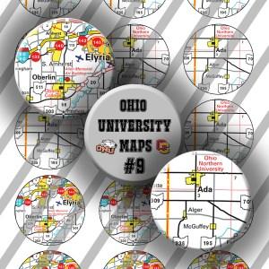 Ohio University Maps #9, 1 inch Preview