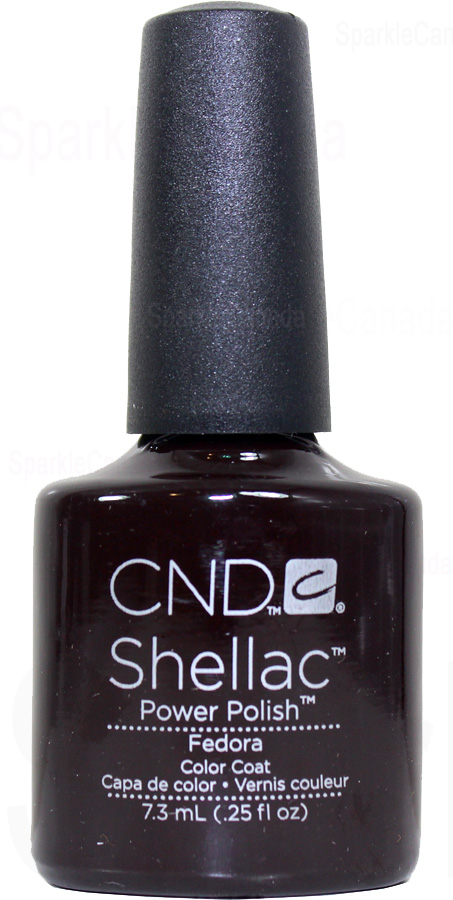 CND Shellac Fedora By CND Shellac 12 2027 Sparkle Canada One Nail Polish Place