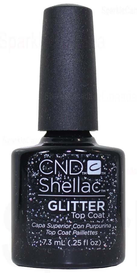 CND Shellac Glitter Top Coat By CND Shellac 123028