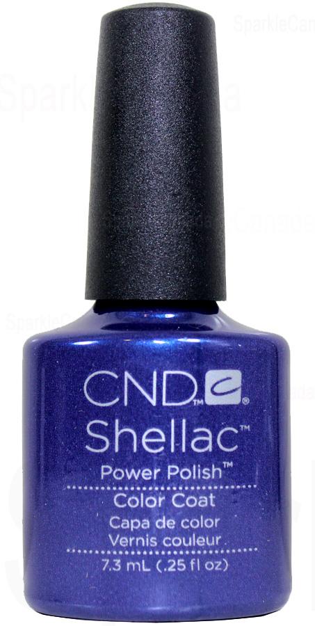 CND Shellac Purple Purple Color By CND Shellac 122017  Sparkle Canada  One Nail Polish Place