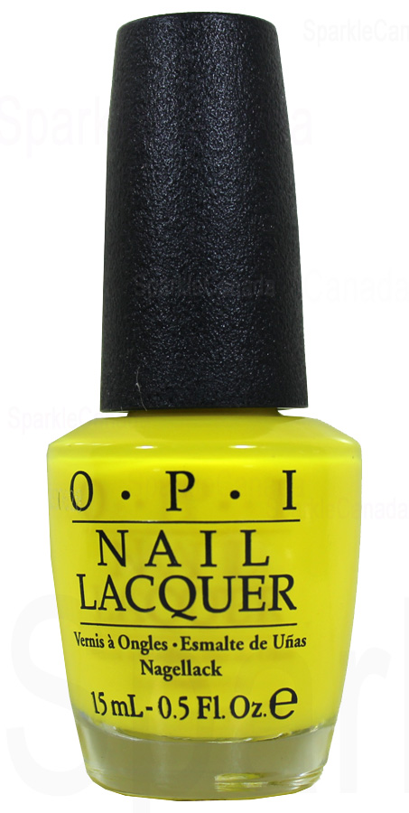 OPI No Faux Yellow By OPI NLBB8  Sparkle Canada  One