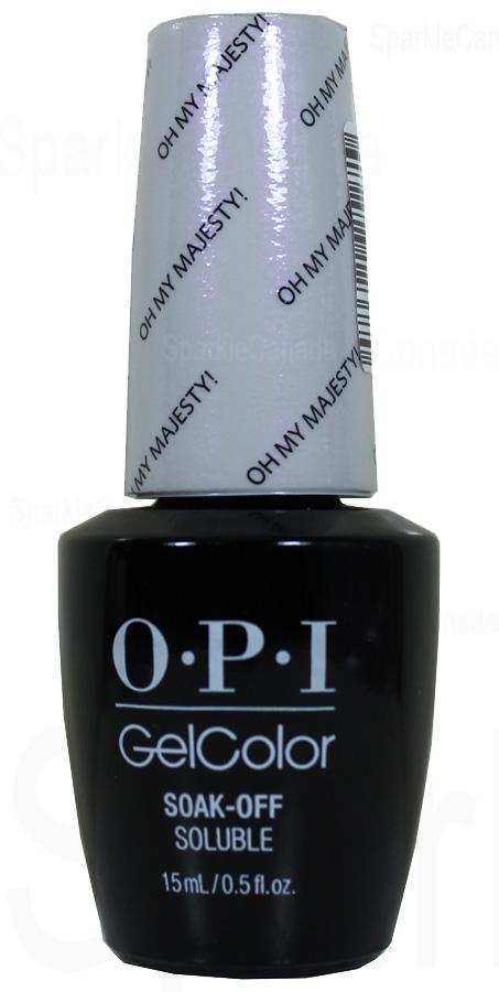 OPI Gel Color Oh My Majesty By OPI Gel Color GCBA2
