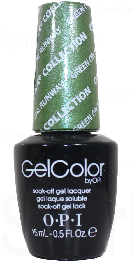 OPI Gel Color Green On The Runway By OPI Gel Color GCC18