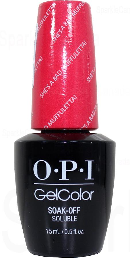 OPI Gel Color She S A Bad Muffuletta By OPI Gel Color