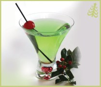 Grinch Cocktail - source: mixthatdrink.com