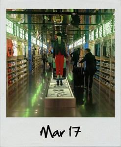 Polaroid. Mar 17
