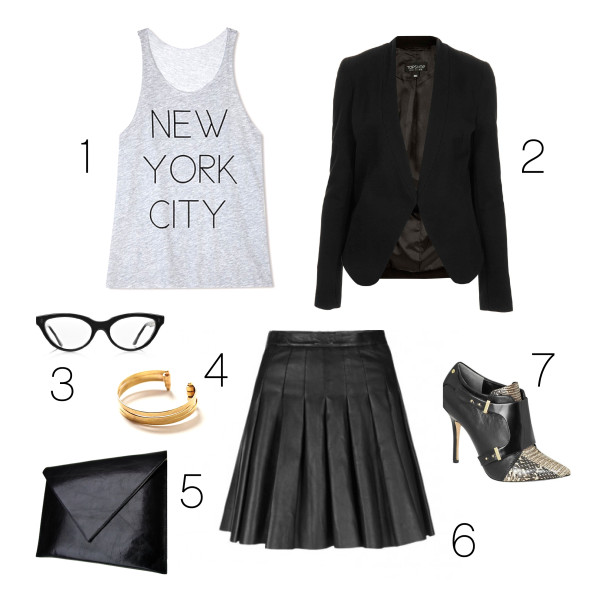leather is the new black