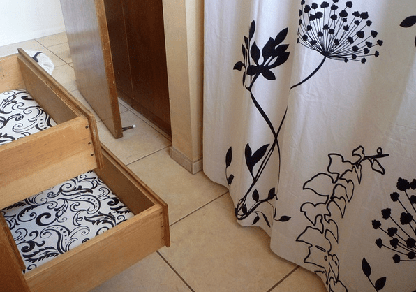 DIY Custom Drawer Liner
