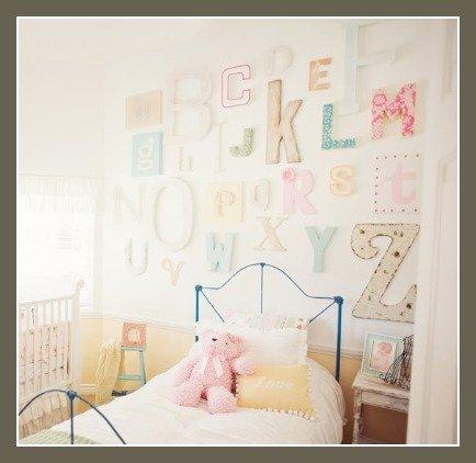 alphabet wall round up