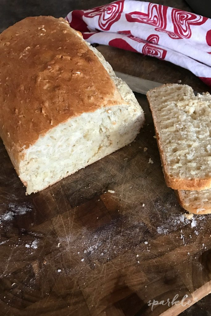 Here is an easy recipe for Oatmeal Honey Bread. It's just a little sweet and a great recipe if you are new to making bread.