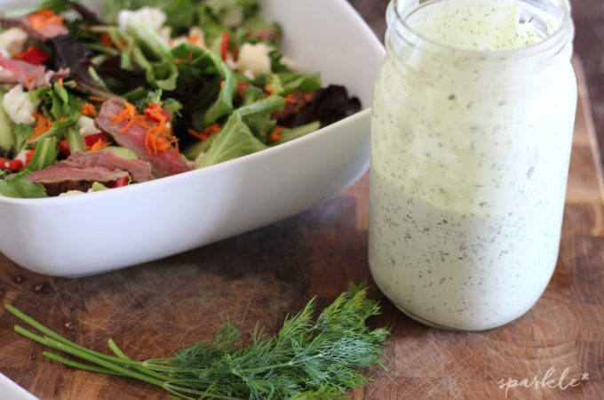 Buttermilk Dill Salad Dressing