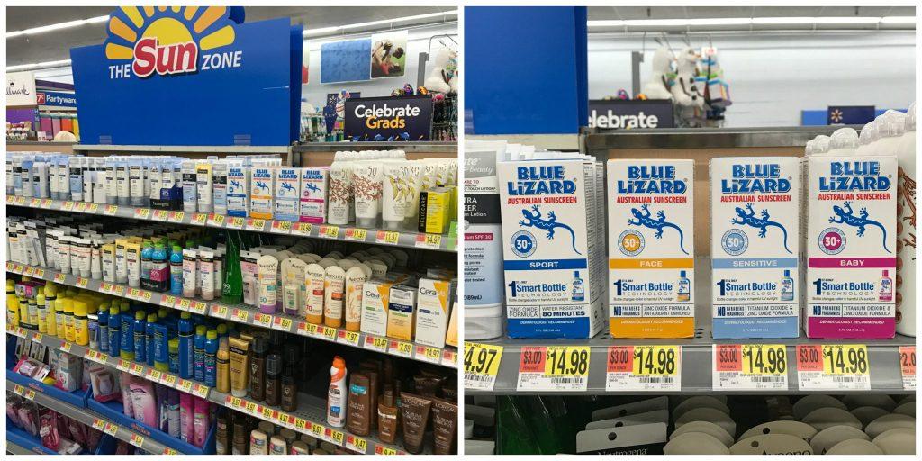 Blue Lizard at Walmart
