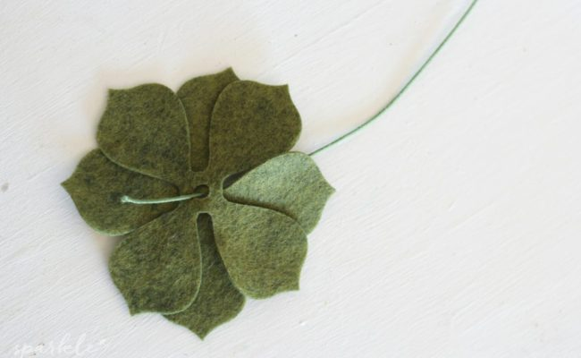 Handmade Felt Succulent Gifts Sparkle Living Blog