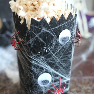 Spider Web Popcorn Box #PopcornBoxParty2017