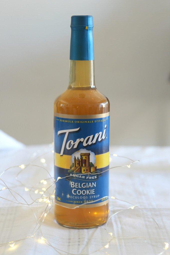 Torani Sugar Free Belgian Cookie Syrup