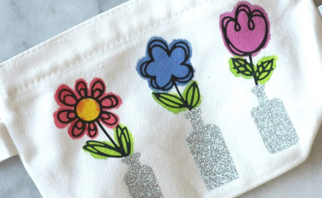 Springtime Flower Pouch Craft Sparkle Living Blog